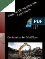 Algunos Contaminantes Específicos