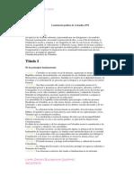 Constitucion de Colombia 1991 y sus participantes