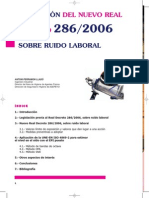 Real Decreto 286-2006-Ruido Laboral