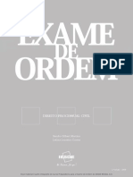 Exame de Ordem Processo Civil