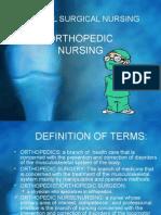 Medical Surgical Nursing Orthopedic[1]