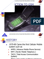 Introduction of Gsm