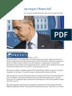 'Pro-Israel group targets Obama bid'