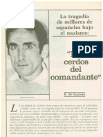 Los cerdos del comandante. Españoles en los Campos Nazis