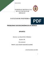 Problemas Socioeconomicos de Mexico