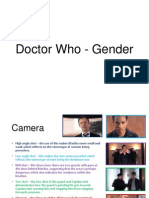 Media - Doctor Who - Gender