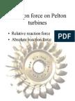 6 - Reaction Force in Pelton Turbines