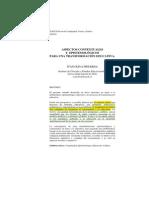 1_Aspectos Contextuales y Epoistemologicos Para La Ytranasformacion Educativa