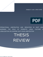 Thesis Review-Law