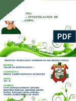 1.3.- Investigacion de Campo.