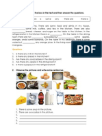 Food and Drink (Unit 1)