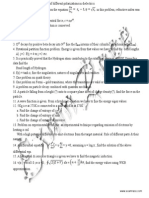 CSIR Physical Sciences June 2009 Paper 2