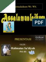 KHILAFAH (PEMERINTAHAN)