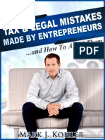 Top 10 Legal and Tax Mistakes Made by Entrepreneurs