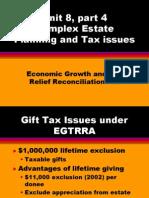 Unit 8 Estate Planning Part 4