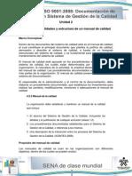 Tema 3-Generalidades y Estructura de Un Manual de Calidad