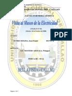 Visita Al Museo de La Electricidad
