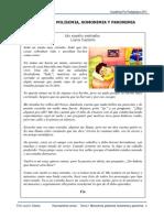 3 Monosemia, Polisemia, Homonimos y Paronimas