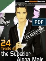 24 Traits of Alpha Male