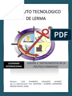 Unidad 3 Instrumentos de Politica Comercial