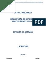 Projeto Básico SAA_ CODRASA_2012