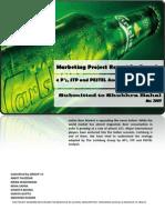 4Ps, STP and PESTEL analysis of Carlsberg India