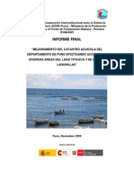 6.2. Informe Final Catastro Acuícola Puno I Etapa