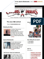 Cowboys and Indians Magazine newsletter No. 1