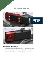 x4000 Dual Lens Car DVR