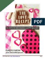 The Love Recipe