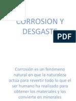 Corrosion y Desgaste