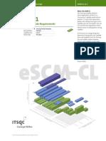 eSCM-CL v1.1 Single Practice Spe01