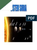 8 Planet Berputar Mengelilingi Matahari Mengikut Urutan