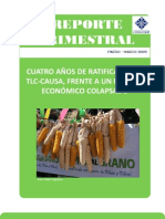 Reporte Trimestral DR-CAFTA