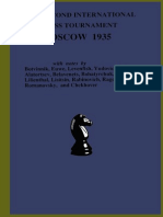2nd International Chess Tournament Moscow 1935