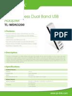 TL-WDN3200 V1 Datasheet