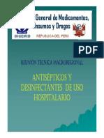 Antisepticos y Desinfectantes II