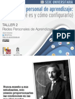 Taller 2 - Redes Personales de Aprendizaje