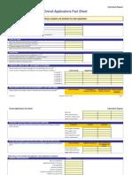 Maintenance Estimation Model Questionnaire