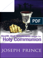 JP - Health and Wholeness Through the Holy Communion