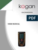 Laser Distance Meter_KALDM40XXXA-A