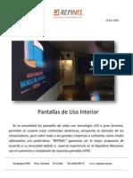 Cotizacion Pantalla Interior P6 5 y 10 Poliplaza