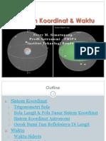 2 - Sistem Koordinat & Waktu