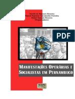 Manifestações Operárias e Socialistas em Pernambuco