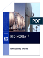 RTD Incotest 5 Top Applications