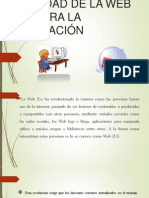 Utilidad de La Web 2