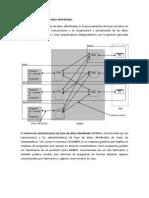 Arquitectura de Base de Datos Distribuidas