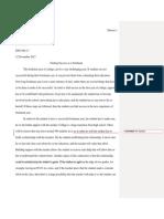 joshua denson - graded essay 3 no comments