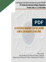 Politica Urbana y Desarrollo Pais (1)