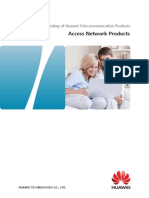 Access Network Product Brochure (2013!6!3)V2.0